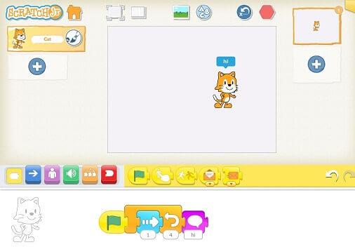 ScratchJr программирование для детей