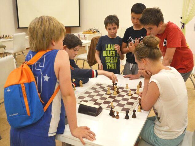 Шахматный лагерь для детей 2021